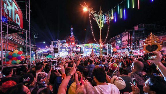 泰國清萊舉辦活動迎新年